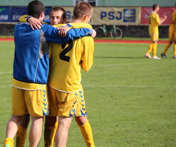 Dorost U-19 bere tři body po výhře nad Hlučínem
