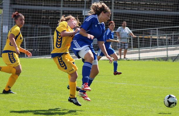 Fotbalistky na úvod prohrály v Heršpicích
