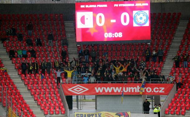 S Fanklubem na Slavii