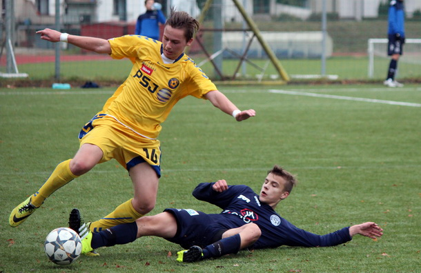 U17: První utkání ve skupině TOP fáze zvládli