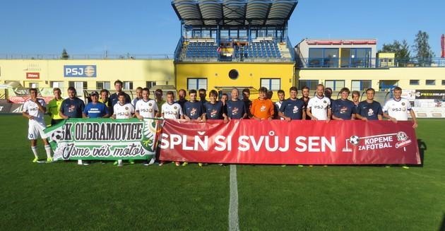 Gambrinus Kopeme za fotbal: Vysočina si zahrála proti Olbramovicím