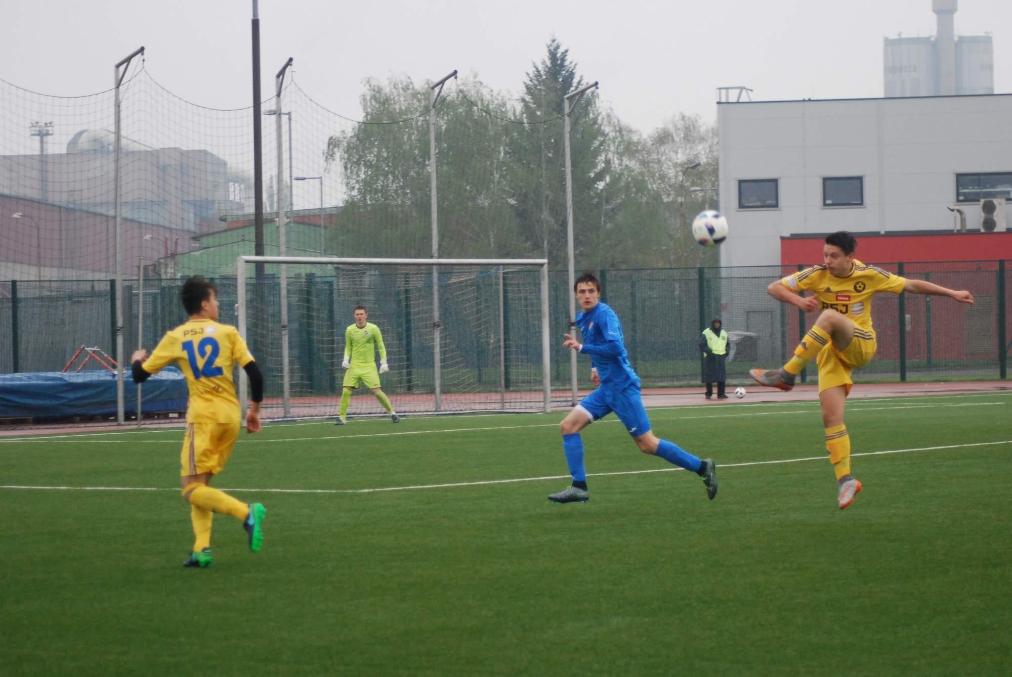 U16: Další utkání proti Ostravě mladší dorostenci nezvládli