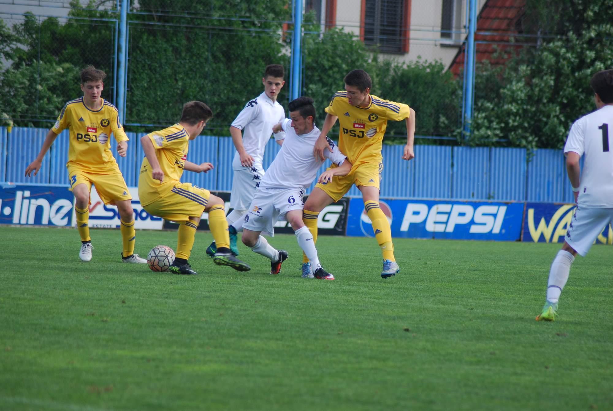 U16: První prohra se Slováckem v této sezoně