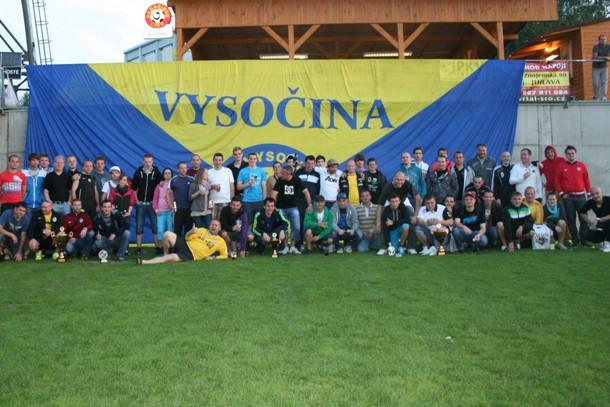 Proběhl druhý ročník Vysočina fans cupu