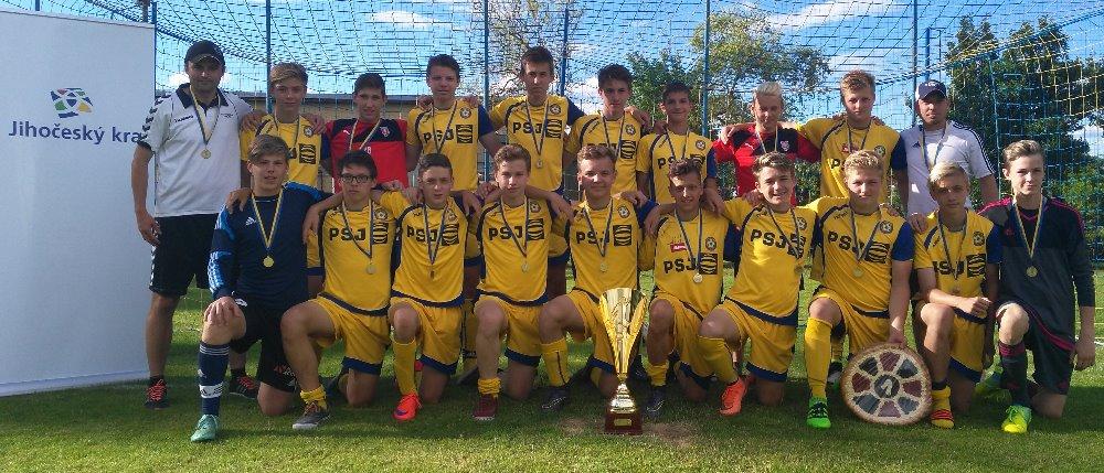 Žáci U15 vyhráli turnaj v Kunžaku