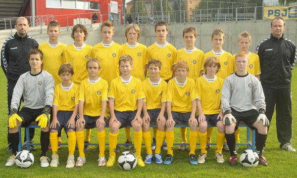 Tým U-15 do finále Premier Cupu