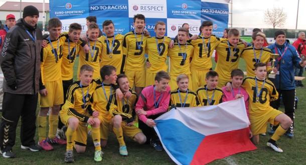 Starší žáci zvítězili na turnaji ve Vídni