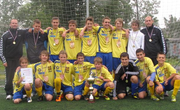 Tým U-15 vítězně na turnaji v Havlíčkově Brodu