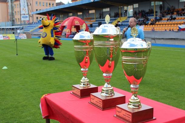 Celostátní finále McDonald's Cupu v Jihlavě bylo zahájeno