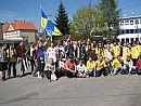 Dav fanoušků FC Vysočina vyrazil směr Bystrc!