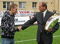 FC Vysočina se rozloučila s Tomášem Kaplanem