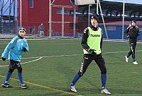 Žáci si v jednom týmu zahráli se svými velkými kolegy