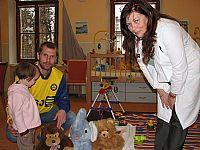 Partneři FC Vysočina pomohli Dětskému centru
