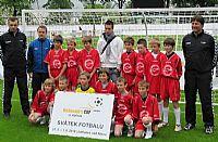 Fotbalisté ZŠ E. Rošického sedmí na finále Mc Donald´s Cupu 2010