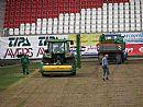 Stadión FC Vysočina dostane nový trávník