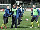 Pod světly proběhl předzápasový trénink FC Vysočina