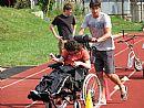 Čtrnáctý Sportovní den pro mentálně a tělesné postižené děti