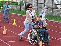 Proběhl Sportovní den pro mentálně a tělesně postižené děti