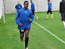 Na prvním tréninku 22 fotbalistů včetně Nigerijce Dicksona