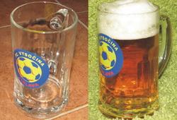 Pivo jedině z klubového půllitru!